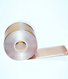 Nickel plated perforated strip